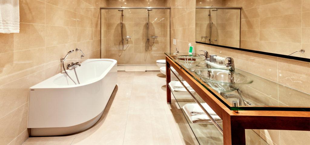 Badkamer Business Appartement WTC Hotel Leeuwarden - Westcord Hotels