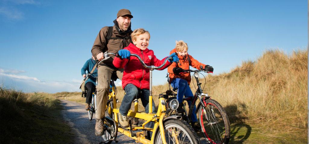 Cycling on the Dutch Wadden Islands - WestCord Hotels