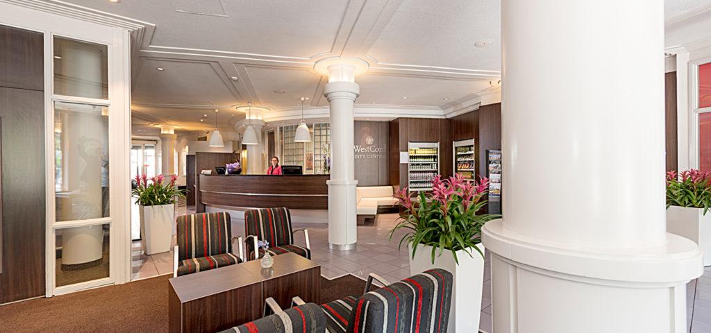 Lobby City Centre Hotel Amsterdam - Westcord Hotels