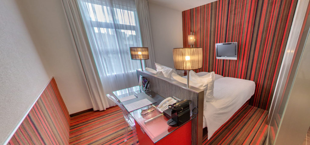 virtual-tour-twin-room-city-view-westcord-city-centre-hotel-amsterdam - Westcord Hotels