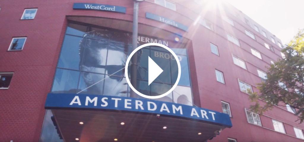 Video WestCord Art Hotel Amsterdam - Westcord Hotels