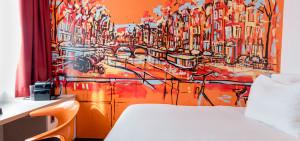 Single Room Art Hotel Amsterdam - Westcord Hotels