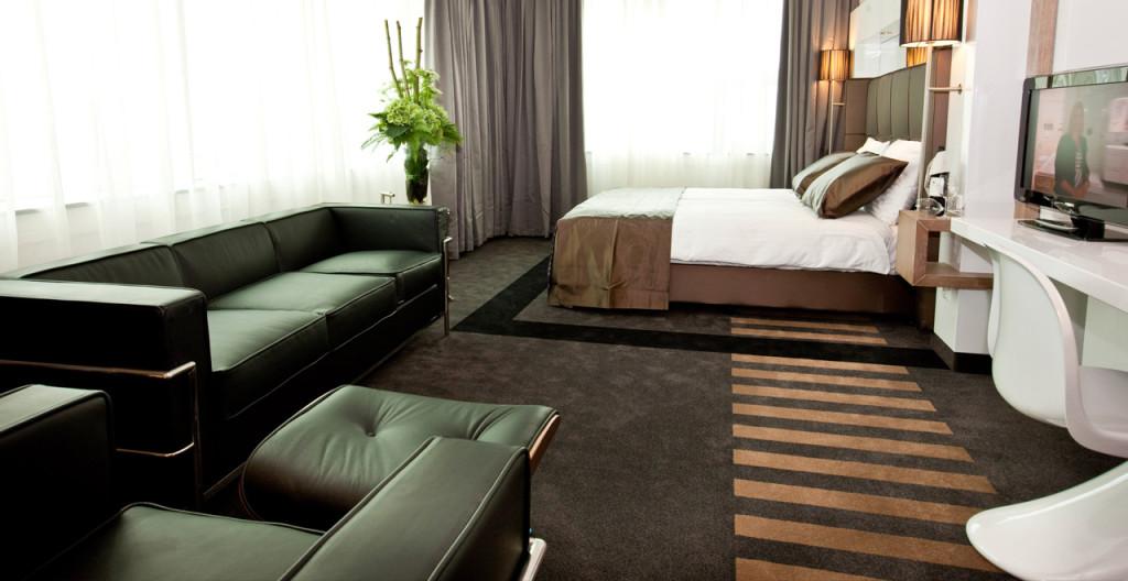 City View Deluxe Kamer WTC Hotel Leeuwarden - Westcord Hotels