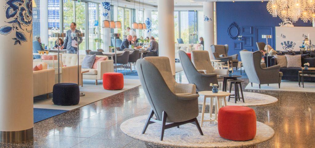 Lobby WestCord Hotel Delft - Westcord Hotels