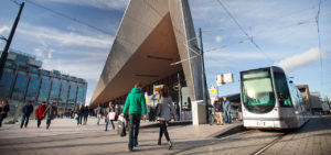 Architectuur Centraal Station Rotterdam - Westcord Hotels