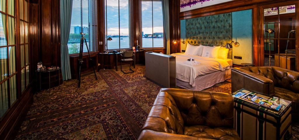 Hotelkamer Directievertrek Hotel New York Rotterdam - Westcord Hotels