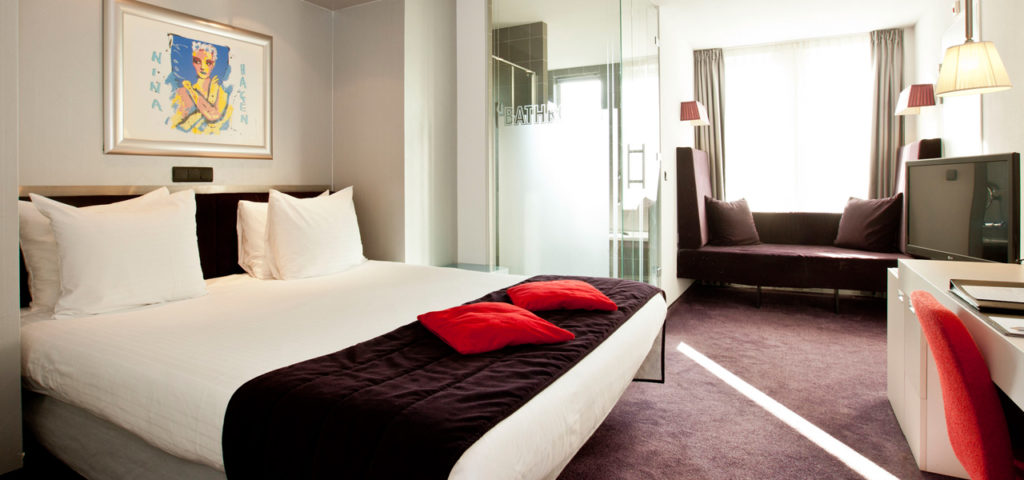 Large Design room  Art Hotel Amsterdam **** - Westcord Hotels
