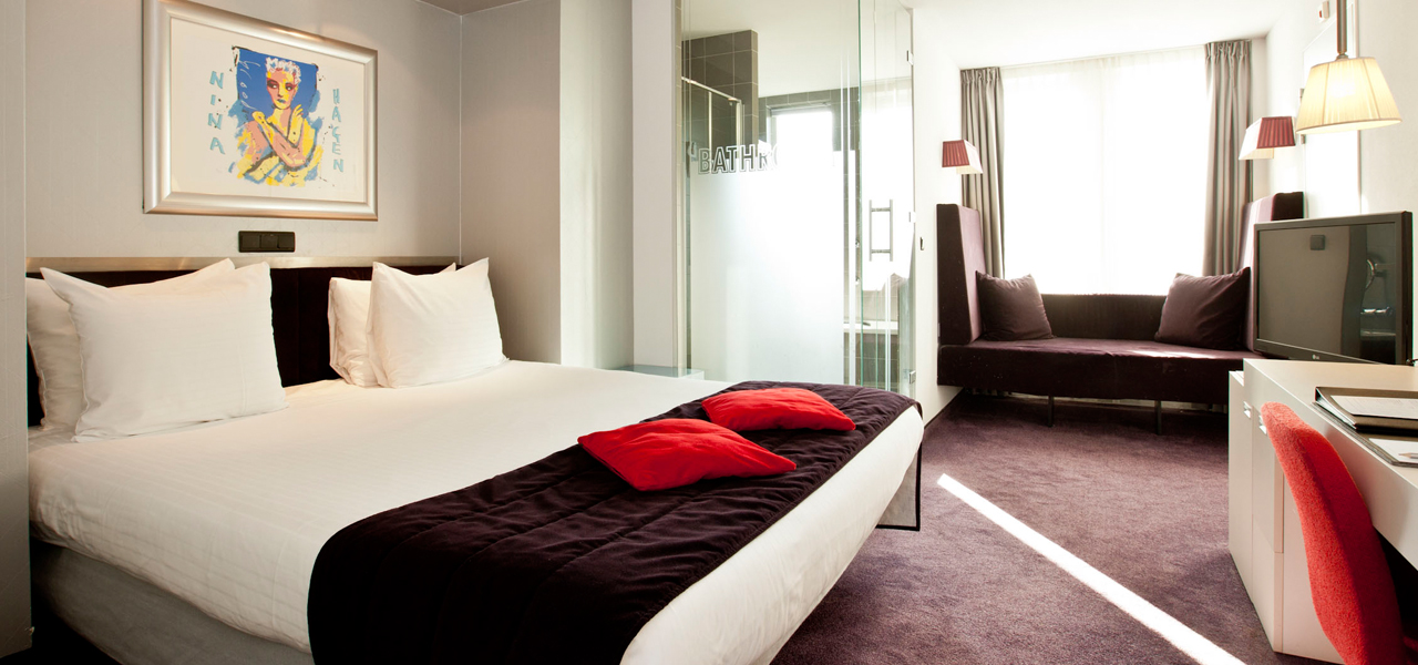 Art hotel amsterdam 4 stars westcord hotels for Hotel design amsterdam