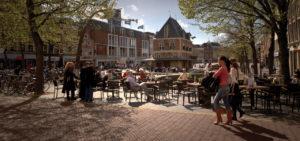 Terras in het centrum van Leeuwarden - Westcord Hotels