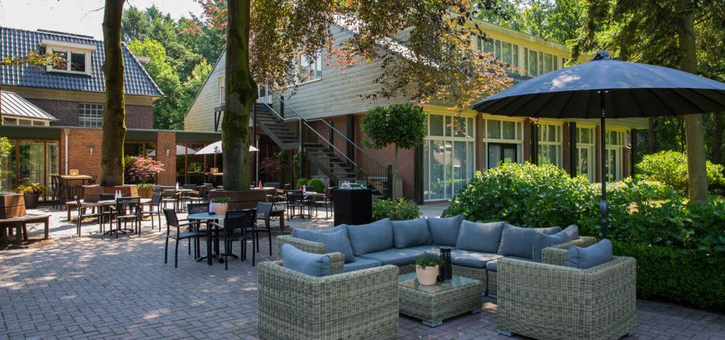 Terras WestCord Hotel de Veluwe Garderen - Westcord Hotels