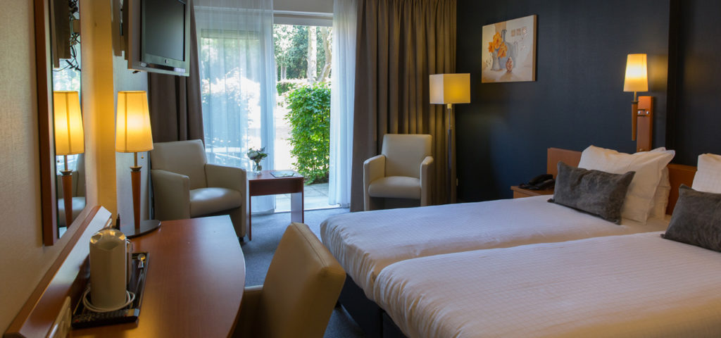 Twin Room with patio - WestCord Hotels