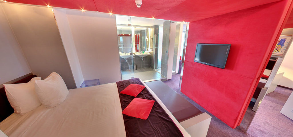 360º photo Bridal Suite Art Hotel Amsterdam **** - Westcord Hotels