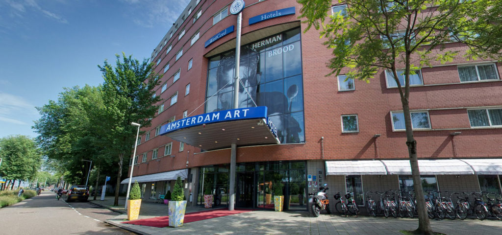 360º photo outside Art Hotel Amsterdam - Westcord Hotels