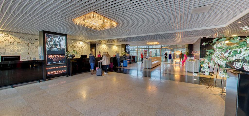 360º photo lobby Fashion Hotel Amsterdam - Westcord Hotels
