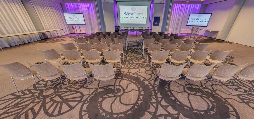 360º photo Fashion Lounge board rooms Fashion Hotel Amsterdam - Westcord Hotels