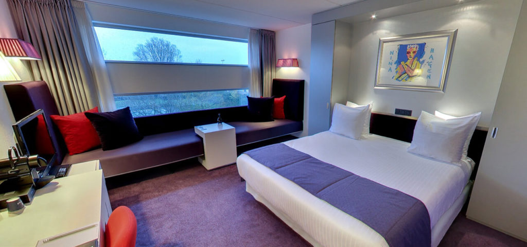 360º foto Junior Suite Art Hotel Amsterdam **** - Westcord Hotels