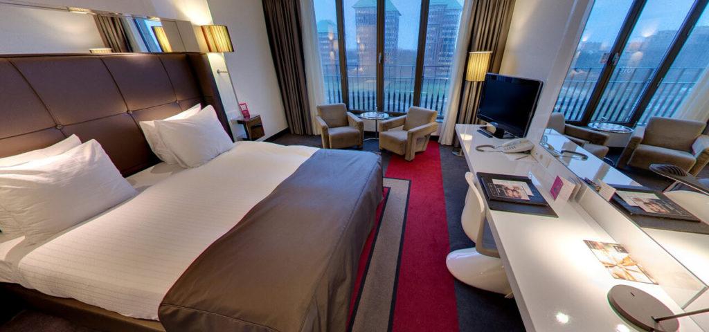 360º photo Large Fashion Double Room Fashion Hotel Amsterdam - Westcord Hotels