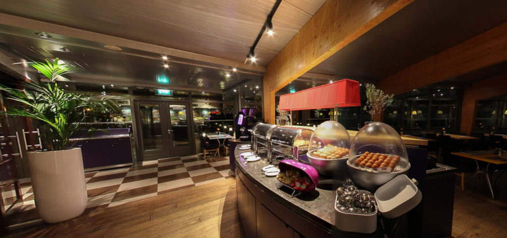 360º photo breakfast restaurant Art Hotel Amsterdam - Westcord Hotels