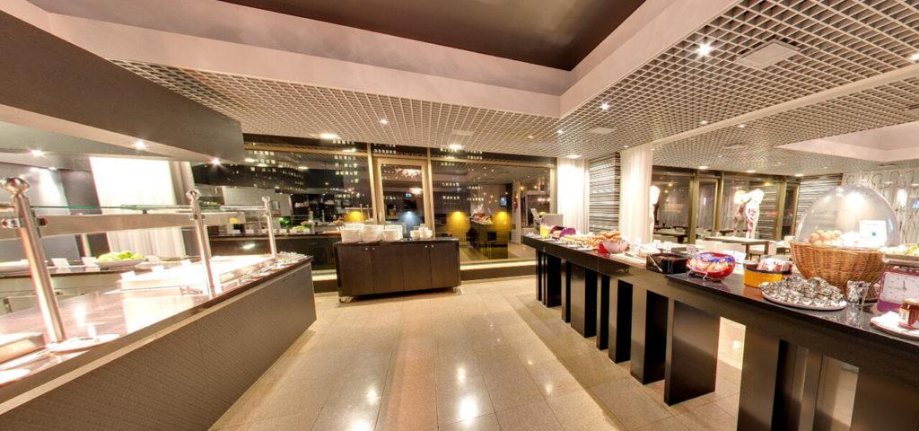 360º photo Breakfast restaurant Fashion Hotel Amsterdam - Westcord Hotels