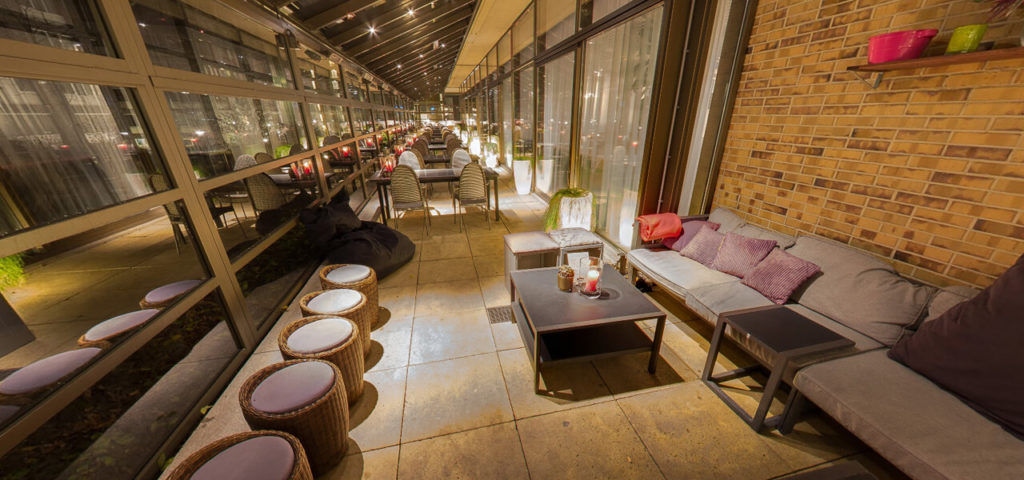 360º photo Roofed terrace Fashion Hotel Amsterdam - Westcord Hotels