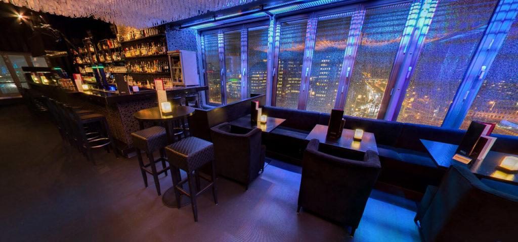 360º photo SKYY Bar Amsterdam Fashion Hotel Amsterdam - Westcord Hotels