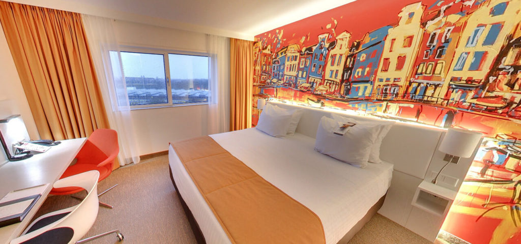 360º photo Superior Room Art Hotel Amsterdam **** - Westcord Hotels