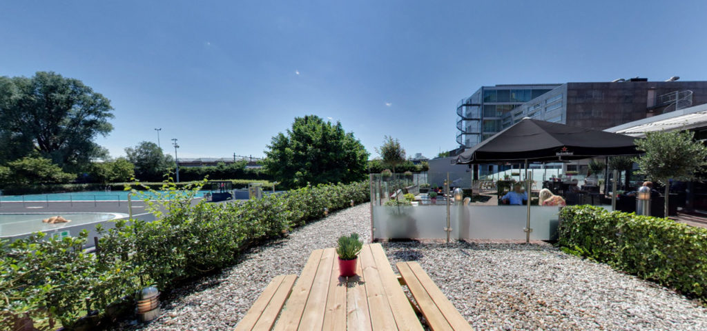 360º photo terrace Art Hotel Amsterdam - Westcord Hotels