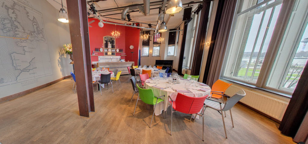 360º photo Balszaal (dinner setup) - Westcord Hotels