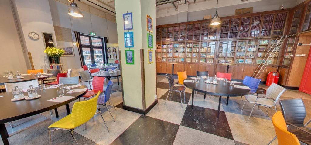 360º photo room Bibliotheek - Westcord Hotels