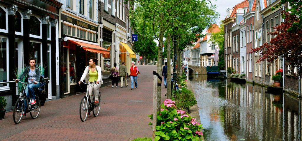 Cycling in Delft - WestCord Hotels