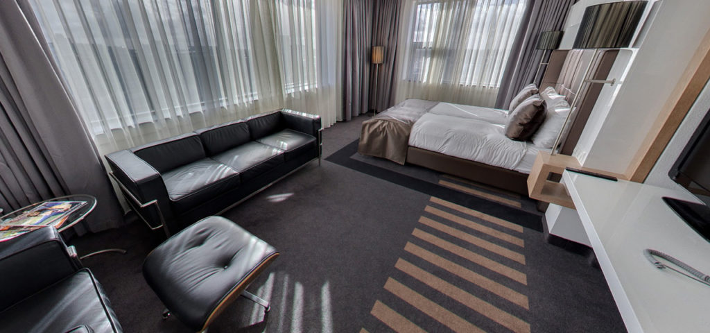 360º photo City View Deluxe Room WestCord WTC Hotel Leeuwarden - Westcord Hotels