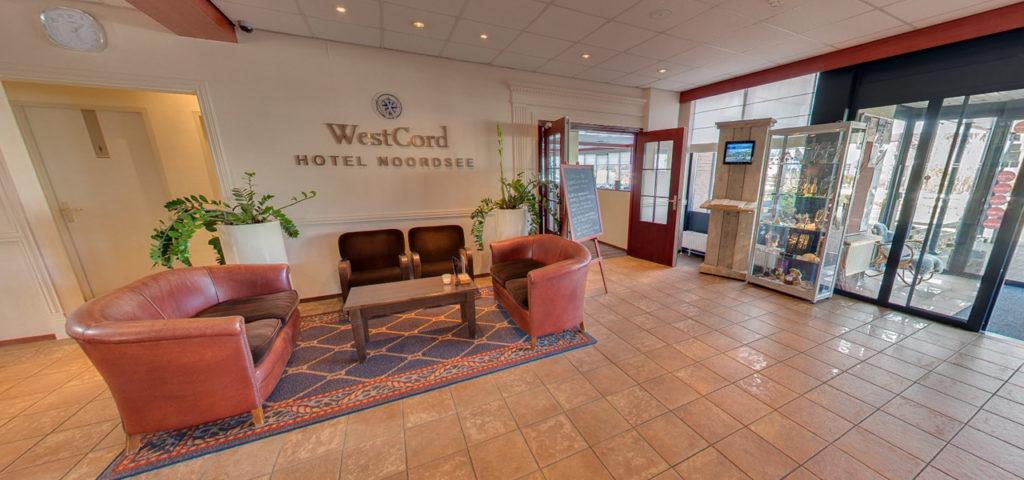 360º photo reception WestCord Hotel Noordsee - Westcord Hotels