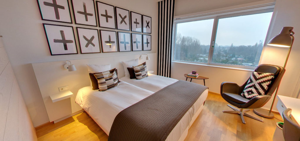 360º photo Double Room 'Cognac' WestCord Hotel Delft - Westcord Hotels
