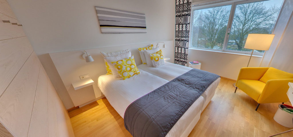 360º photo Double Room 'Graphic' WestCord Hotel Delft - Westcord Hotels