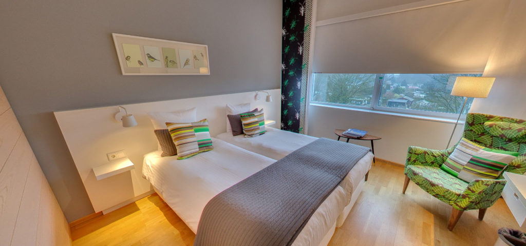 360º photo Double Room 'Green' WestCord Hotel Delft - Westcord Hotels