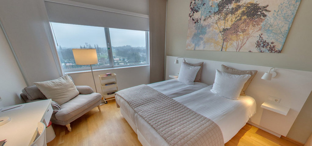 360º photo Double Room 'Natural' WestCord Hotel Delft - Westcord Hotels