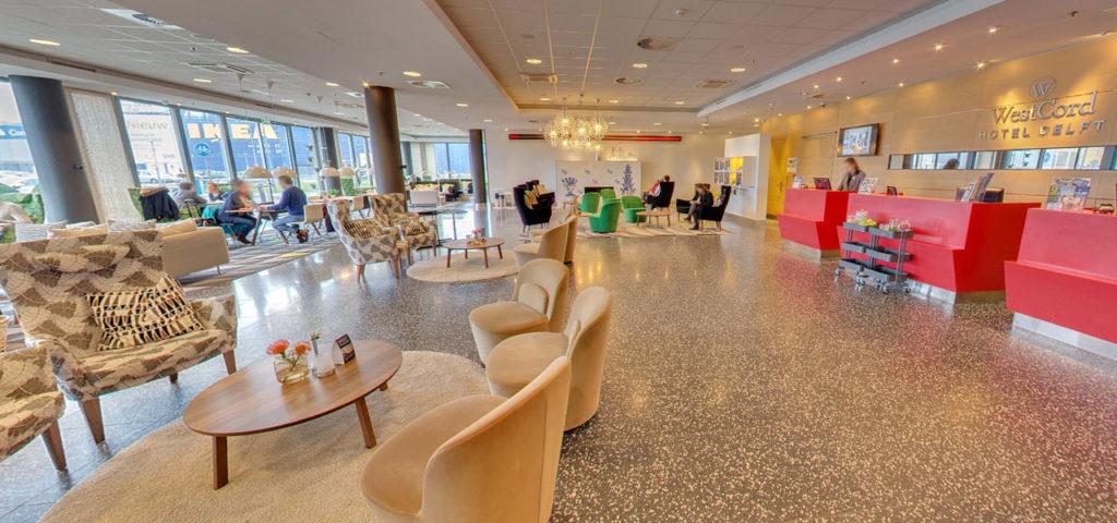 360º photo entrance WestCord Hotel Delft - Westcord Hotels