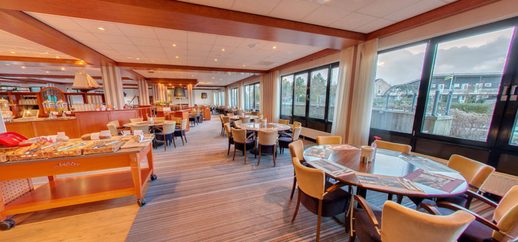 360º photo breakfast restaurant WestCord Hotel Noordsee - Westcord Hotels