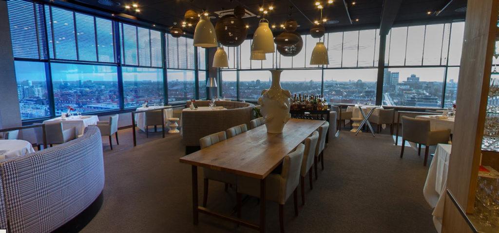360º photo restaurant élevé WestCord WTC Hotel Leeuwarden - Westcord Hotels