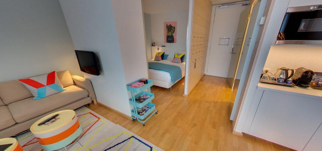 360º photo Studio 'Colour' WestCord Hotel Delft - Westcord Hotels