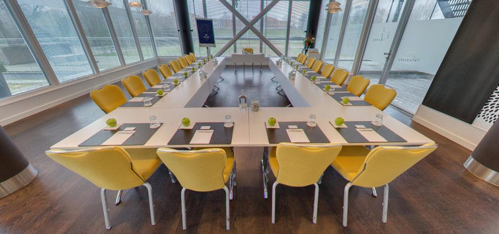 360º photo meeting room 'Amsterdam' WestCord Hotel Delft - Westcord Hotels