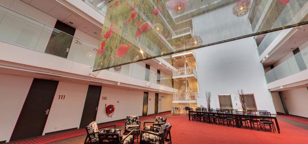 360º photo venue 'Atrium' WestCord Hotel Delft - Westcord Hotels