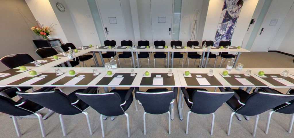 360º photo meeting room 'Stockholm' WestCord Hotel Delft - Westcord Hotels