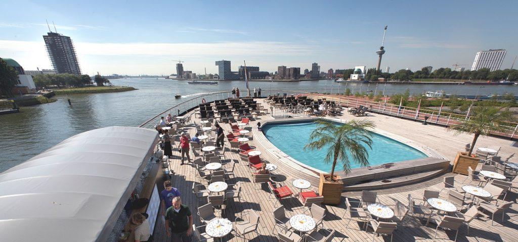 ss Rotterdam deck - Westcord Hotels