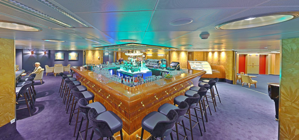 360º photo Captain's Lounge ss Rotterdam - Westcord Hotels
