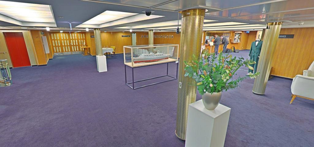 360º photo lobby/reception ss Rotterdam - Westcord Hotels