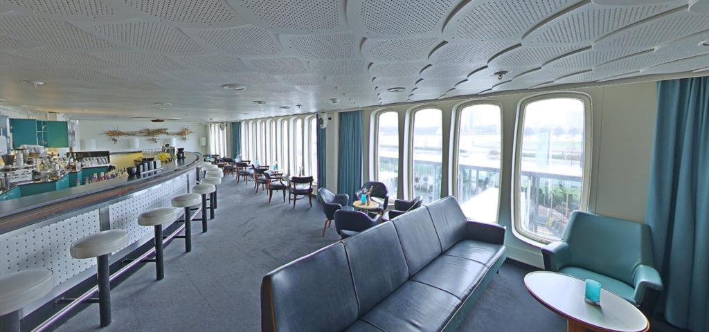 360º photo Ocean Bar ss Rotterdam - Westcord Hotels