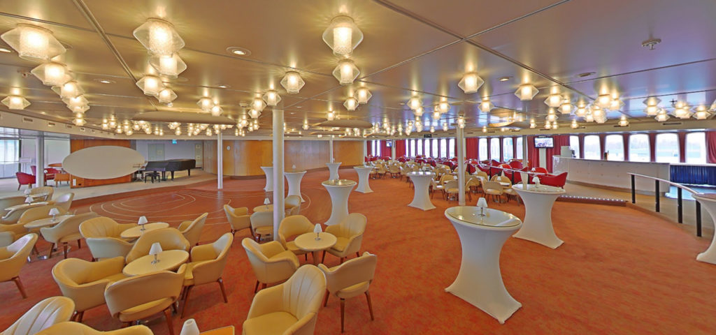 360º photo Queen's Lounge ss Rotterdam - Westcord Hotels