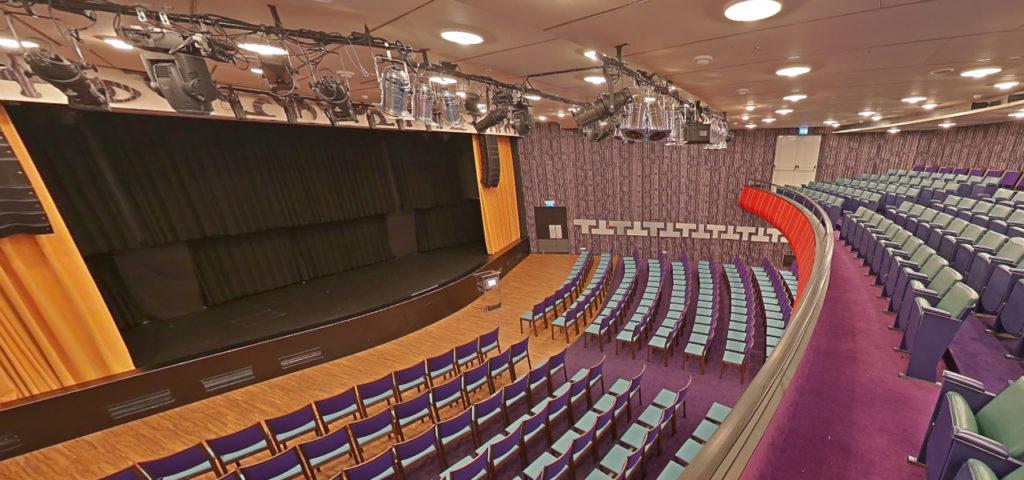 360º photo balcony Theatre ss Rotterdam - Westcord Hotels