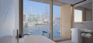 Junior Suites MIVA badkamer - HJA - Hotel Jakarta Amsterdam - WestCord Hotels - Westcord Hotels